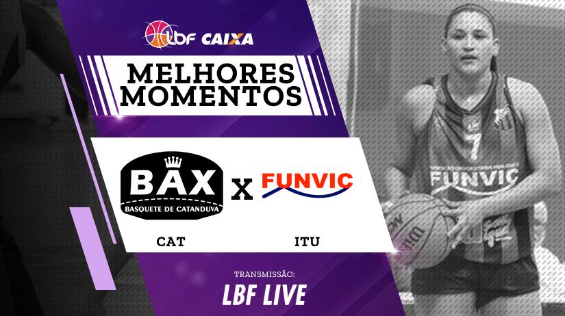 Melhores momentos de Poty/BAX/Catanduva vs Funvic/Ituano