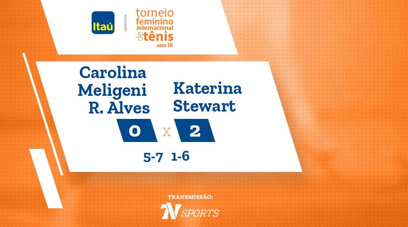 TFIT - Carolina Meligeni Rodrigues ALVES vs Katerina STEWART