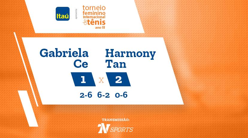 TFIT - Gabriela CE vs Harmony TAN