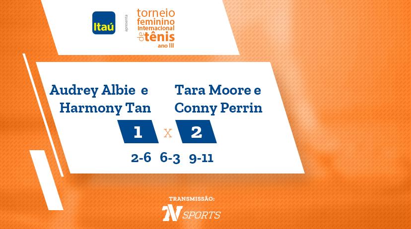 TFIT - Audrey ALBIE / Harmony TAN vs Tara MOORE / Conny PERRIN
