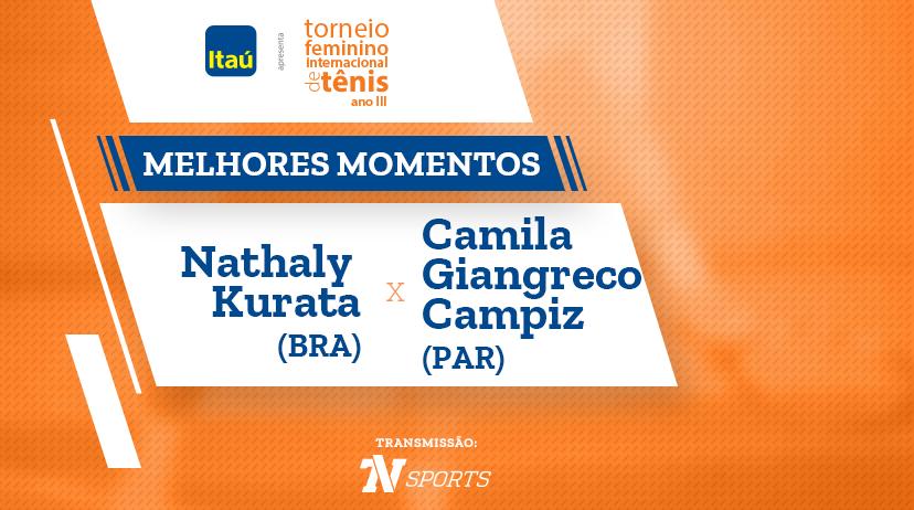 Melhores momentos de Nathaly KURATA vs Camila GIANGRECO CAMPIZ