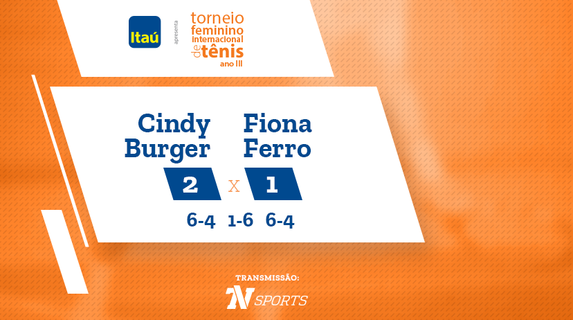TFIT - Cindy BURGER vs Fiona FERRO
