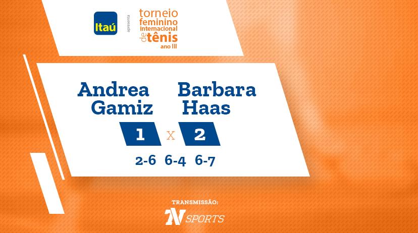 TFIT - Andrea GAMIZ vs Barbara HAAS