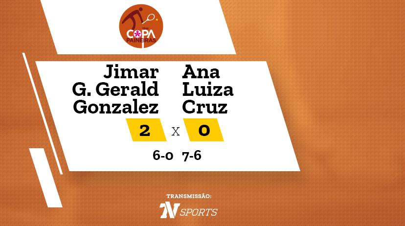 CP - Jimar Geraldine GERALD GONZALEZ vs Ana Luiza CRUZ