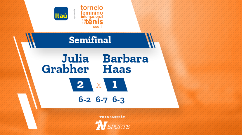 TFIT - Semifinal: Julia GRABHER vs Barbara HAAS