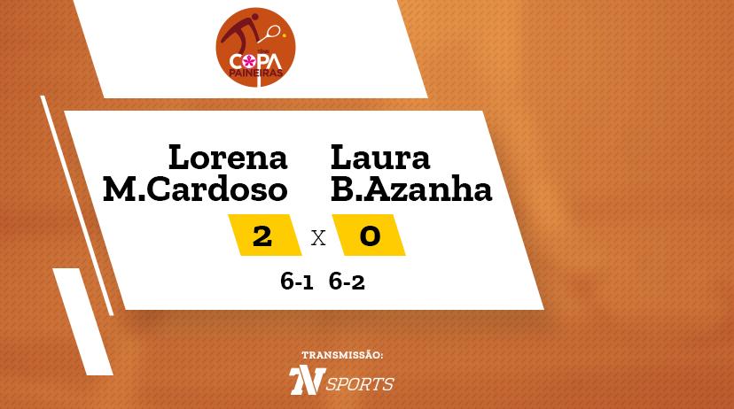 CP - Lorena MEDEIROS CARDOSO vs Laura BROETTO AZANHA