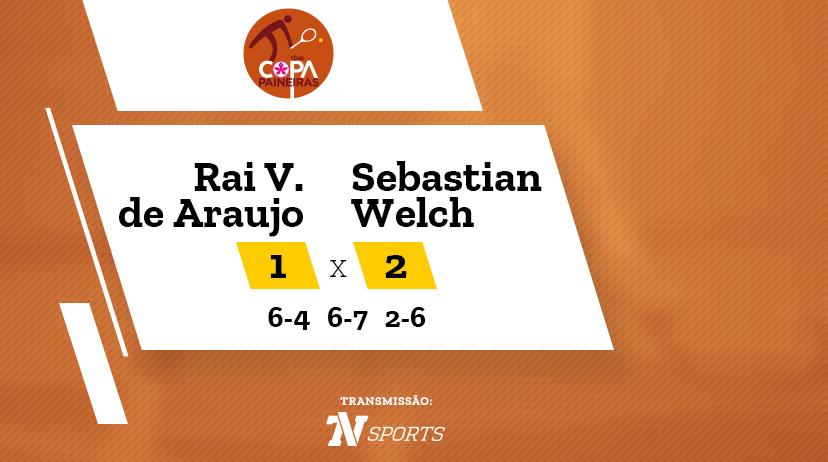 CP - Rai Vicente de ARAUJO vs Sebastian WELCH