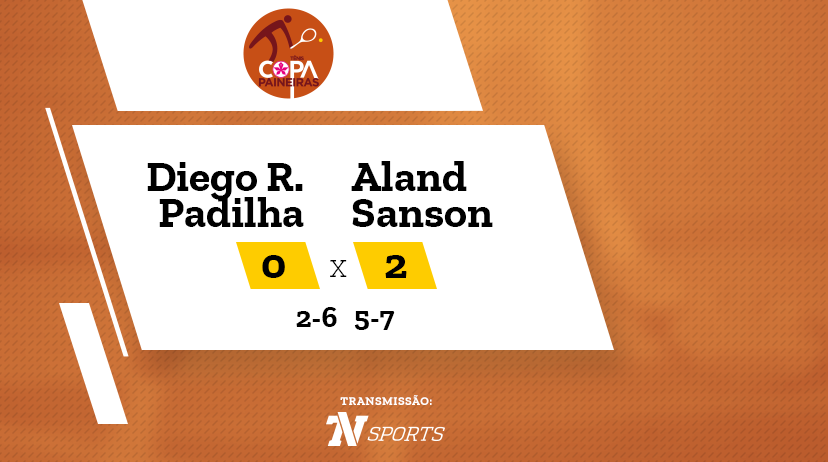 CP - Diego RIVIERE PADILHA vs Aland SANSON