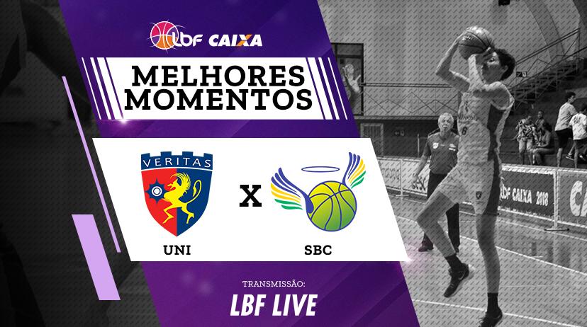 Melhores momentos de Uninassau Basquete vs São Bernardo/Brazolin/Unip