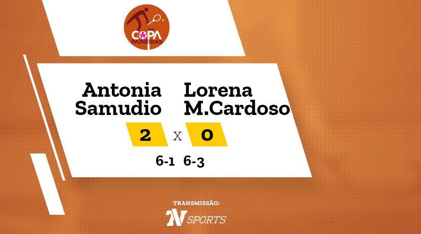 CP - Antonia SAMUDIO vs Lorena MEDEIROS CARDOSO