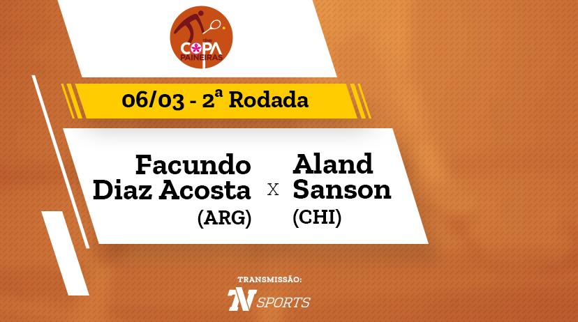 CP - Facundo DIAZ ACOSTA vs Aland SANSON