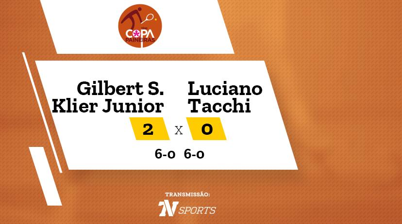 CP - Gilbert SOARES KLIER JUNIOR vs Luciano TACCHI