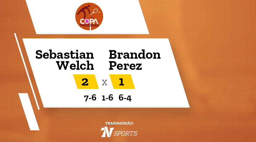 CP - Sebastian WELCH vs Brandon PEREZ