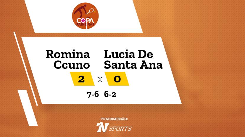 CP - Romina CCUNO vs Lucia DE SANTA ANA
