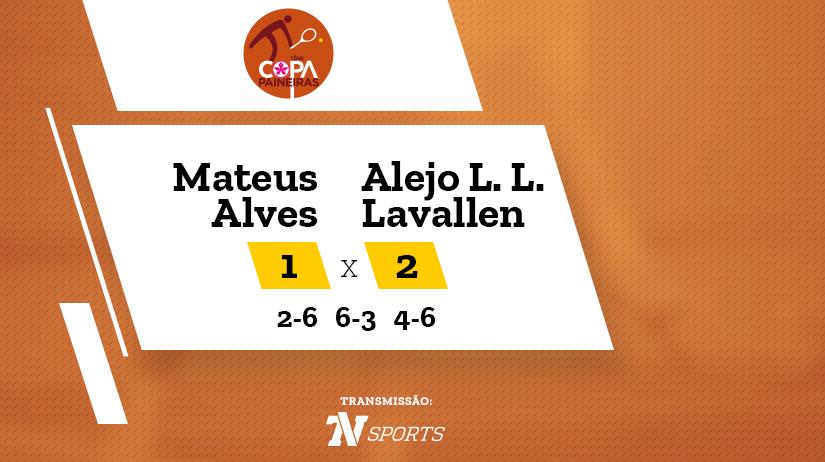 CP - Mateus ALVES vs Alejo Lorenzo LINGUA LAVALLEN