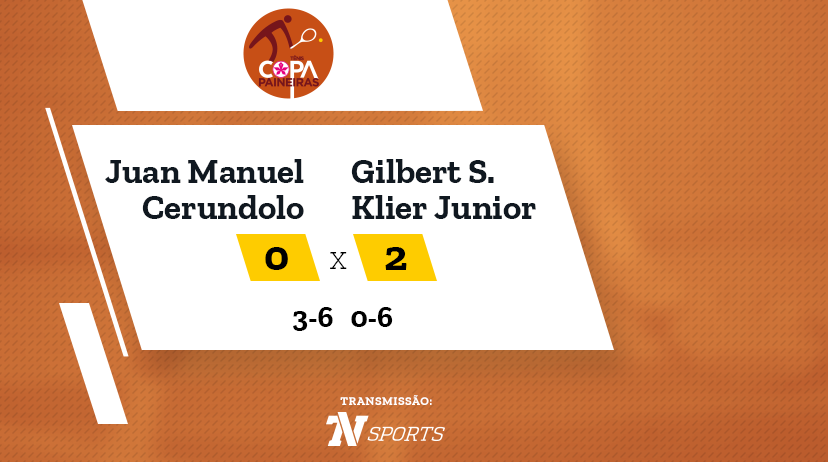 CP - Juan Manuel CERUNDOLO vs Gilbert SOARES KLIER JUNIOR