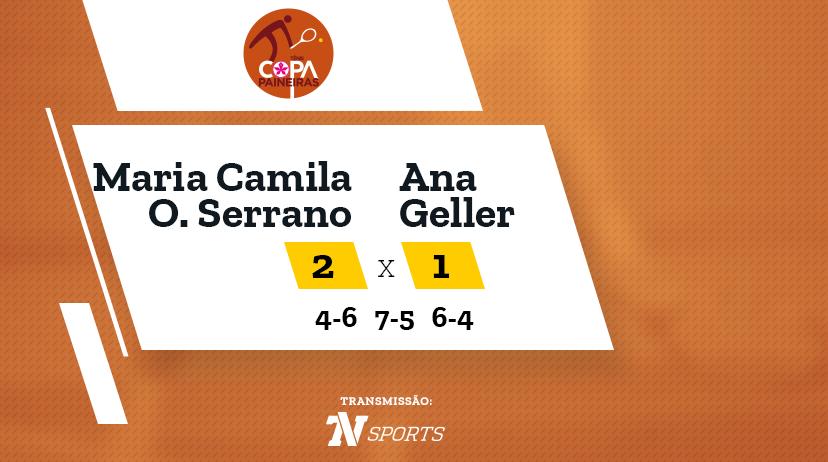 CP - Maria Camila OSORIO SERRANO vs Ana GELLER