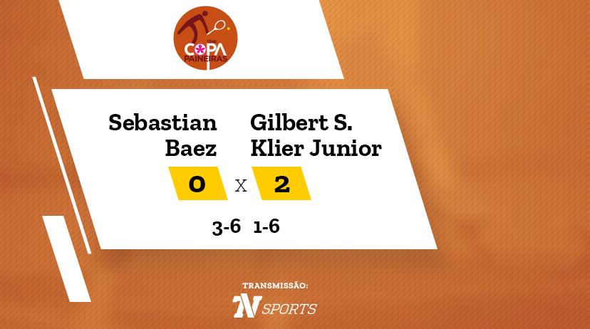 CP - Sebastian BAEZ vs Gilbert SOARES KLIER JUNIOR