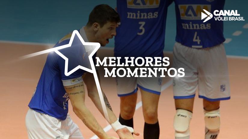 Melhores momentos de Ponta Grossa/Caramuru vs Minas Tênis Clube