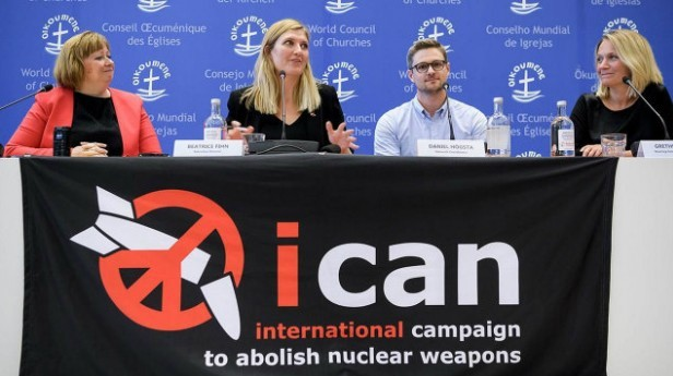 ICAN Director, Beatrice Fihn visits Faslane