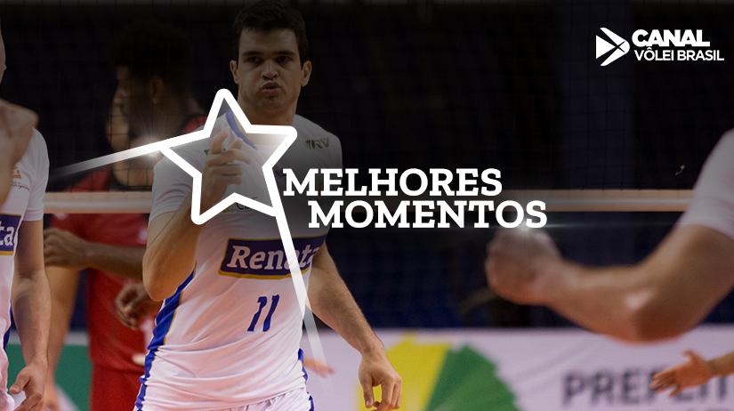 Melhores momentos de Sada Cruzeiro vs Vôlei Renata