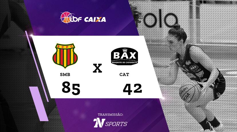 Sampaio Basquete vs Poty/BAX/Catanduva