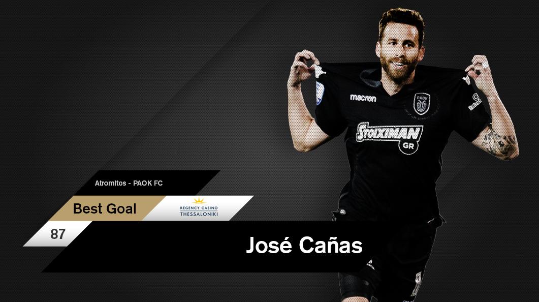 José Alberto Cañas puts on his scoring cap