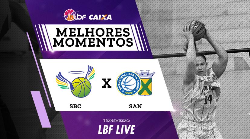 Melhores momentos de São Bernardo/Brazolin/Unip vs Santo André/APABA