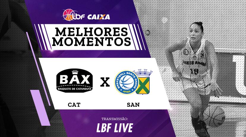 Melhores momentos de Poty/BAX/Catanduva vs Santo André/APABA