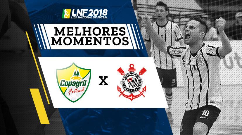 Melhores momentos de Copagril vs Corinthians