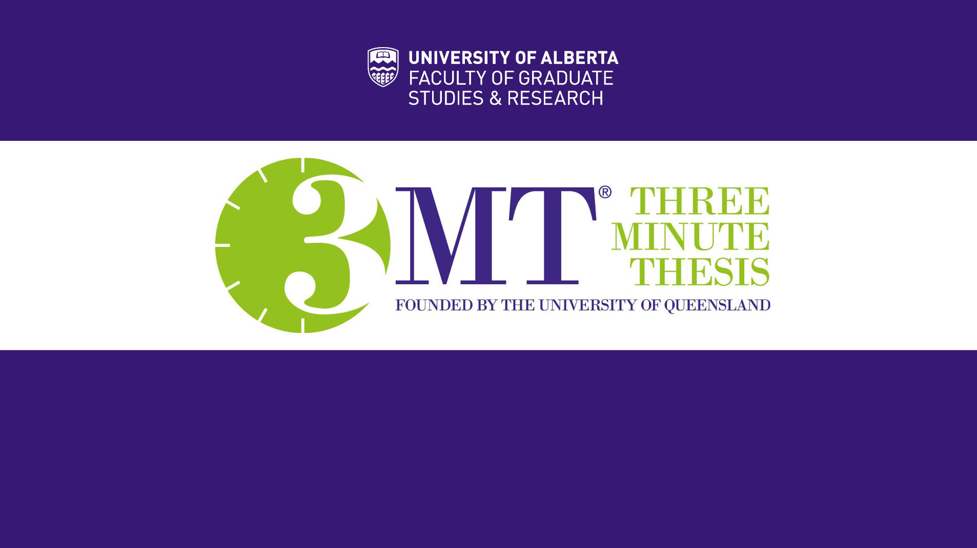 3 minute thesis ualberta