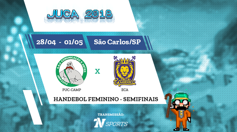 Juca - Hand Fem - Semi 2 - Puccamp vs ECA