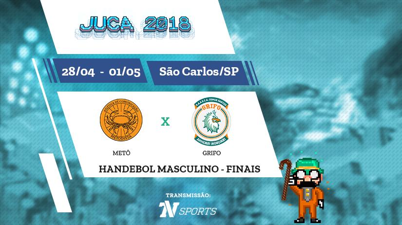 Juca - Hand Masc - Final - Metô vs Grifo - 10h00