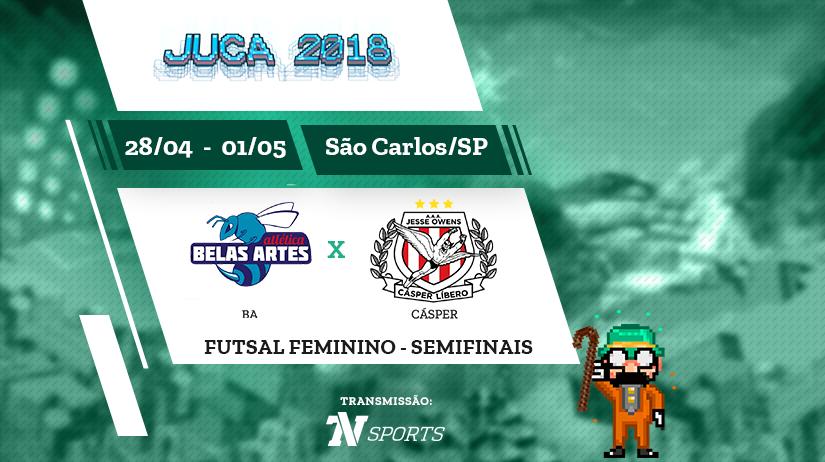 Juca - Futsal Fem - Semi 1 - BA vs Cásper