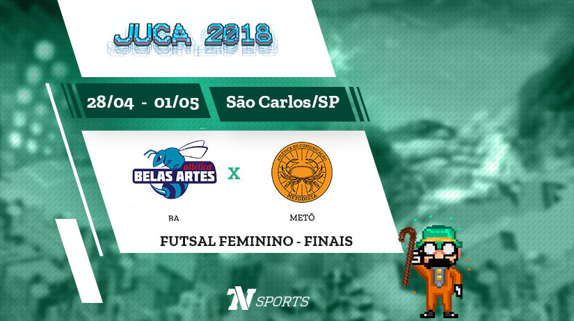 Juca - Futsal Fem - Final - BA vs Metô - 14h00