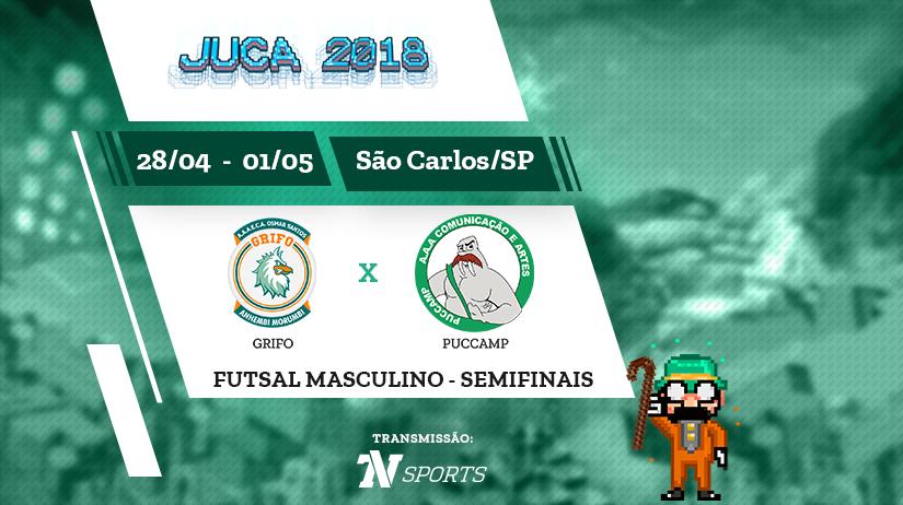 Juca - Futsal Masc - Semi 1 - Grifo vs Puccamp