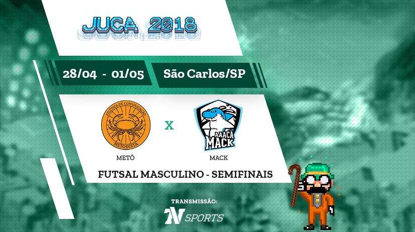 Juca - Futsal Masc - Semi 2 - Metô vs Mack