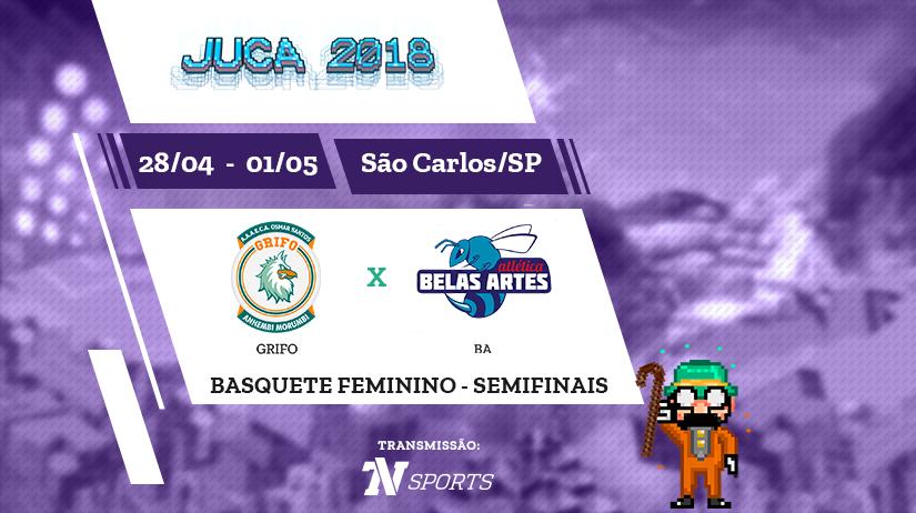 Juca - Basquete Fem - Semi 2 - Grifo vs BA
