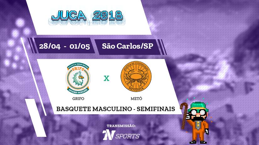 Juca - Basquete Masc - Semi 1 - Grifo vs Metô