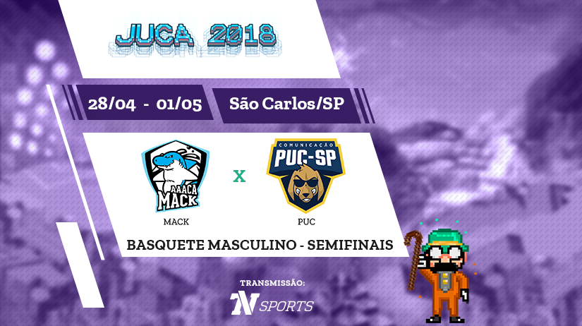 Juca - Basquete Masc - Semi 2 -Mack vs PUC-SP