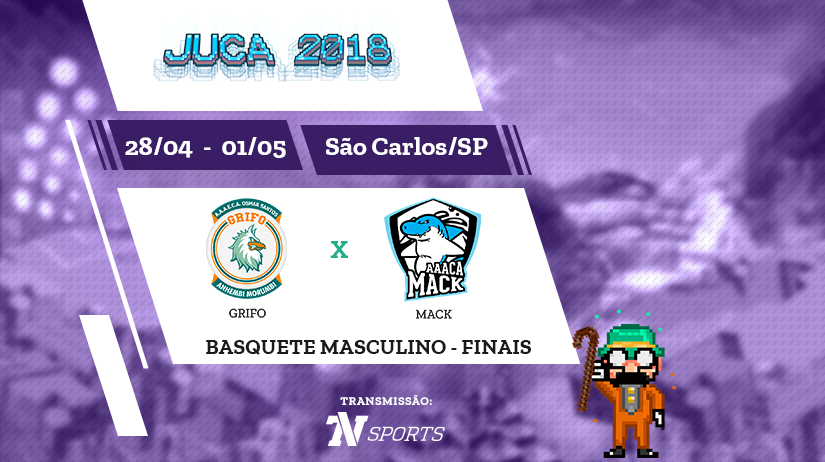 Juca - Basquete Masc - Final - Grifo vs Mack - 18h00