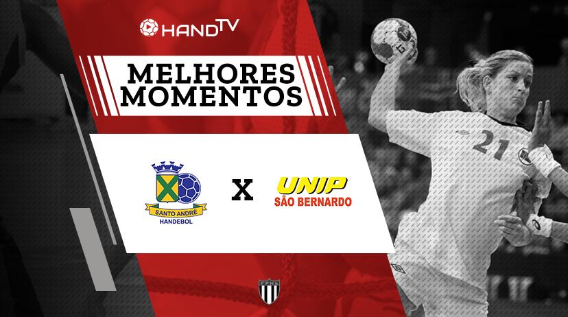 Melhores momentos de São Bernardo vs Santo André | Taça Paulistana | Feminino
