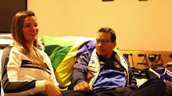 Amor e rivalidade: Emyliane e Gerardo