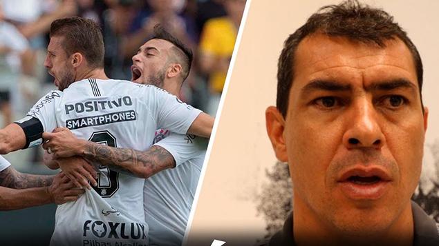 Gol e Pós-jogo - Corinthians 1x1 Ceará - Brasileirão 2018