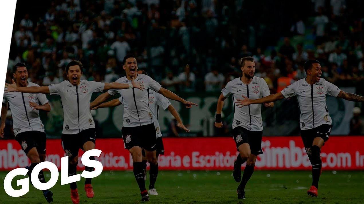 Gols - Palmeiras 0 (3x4) 1 Corinthians - Paulistão 2018
