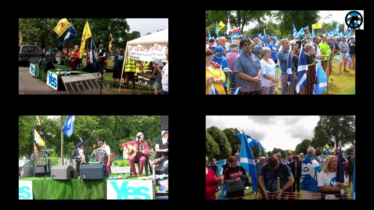 March for Indy - Dumfries. Main coverage.