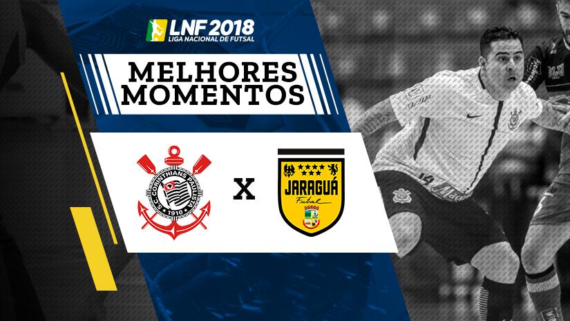 Melhores momentos de Corinthians vs Jaraguá