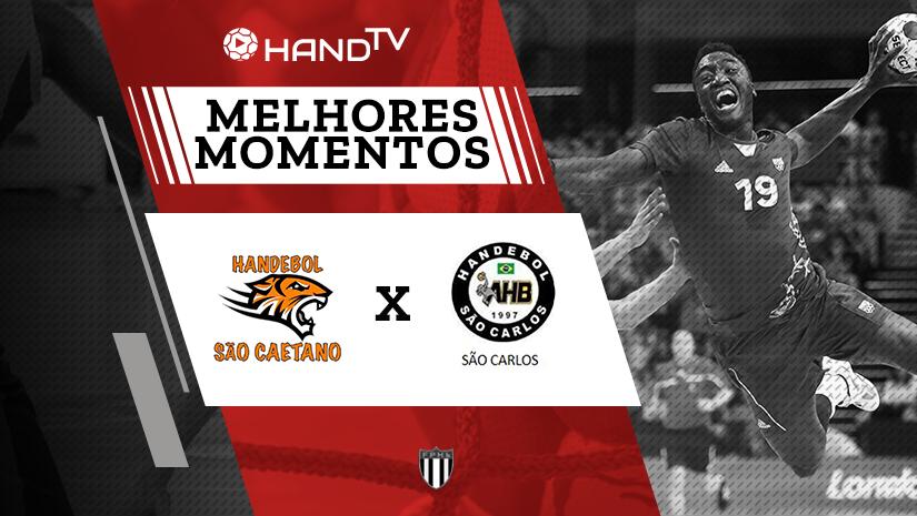 Melhores momentos de São Caetano vs São Carlos | Taça Paulistana | Masculino