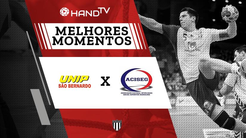 Melhores momentos de São Bernardo vs Guarulhos Definição de 3º e 4º lugar