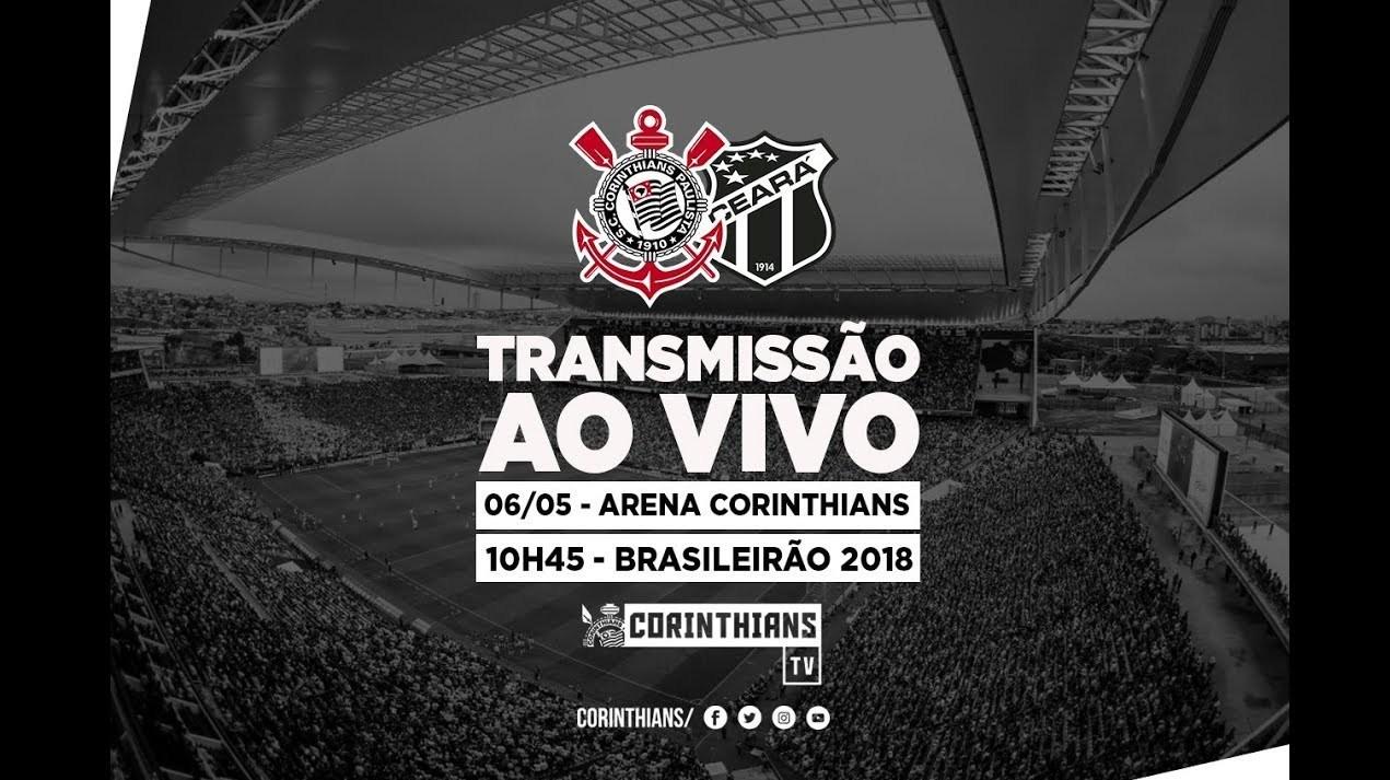 Corinthians 1x1 Ceará - Brasileirão 2018 (AO VIVO)